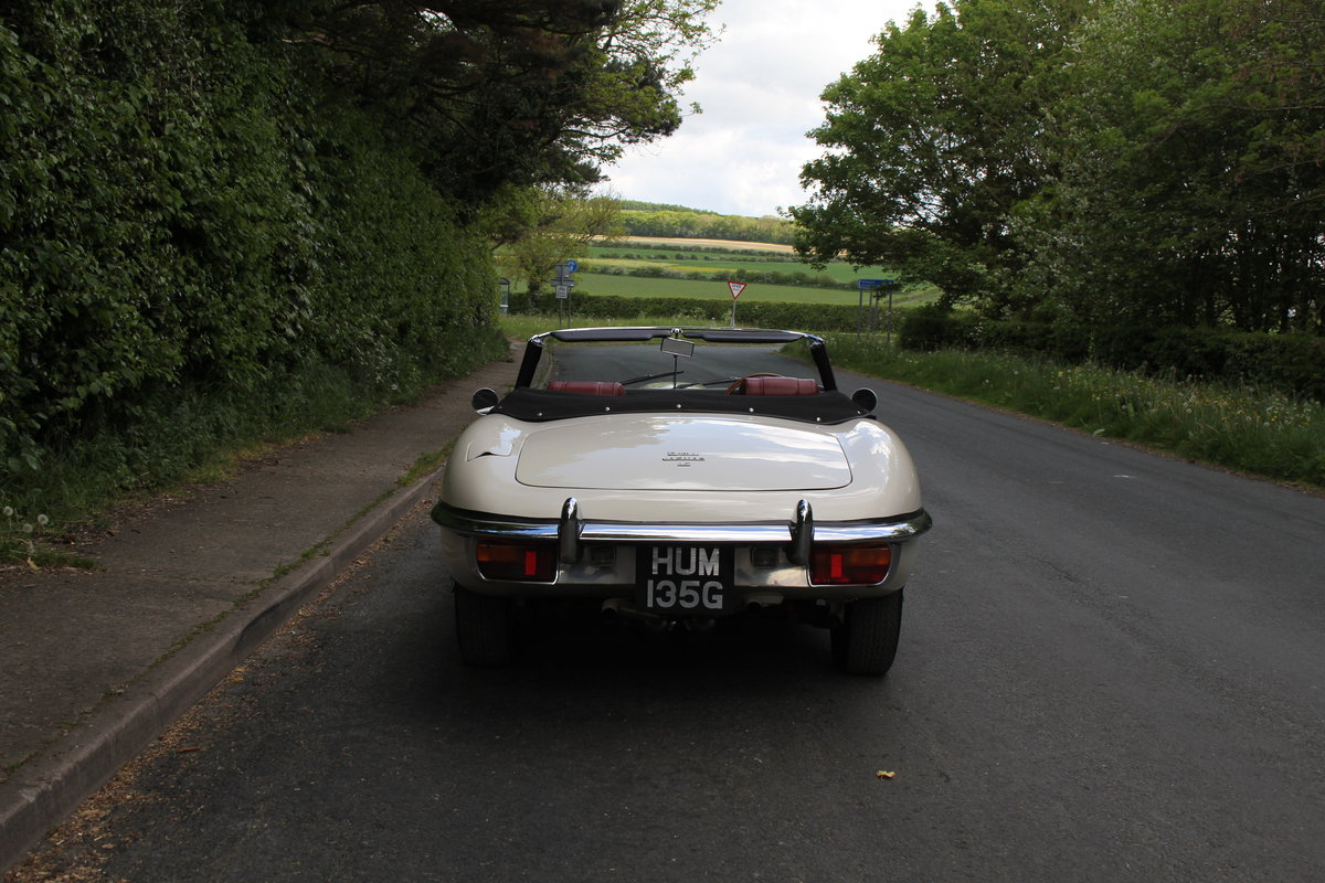 1968 Jaguar E-Type Series II 4.2 Roadster - Matching No's/Colour SOLD (picture 5 of 12)
