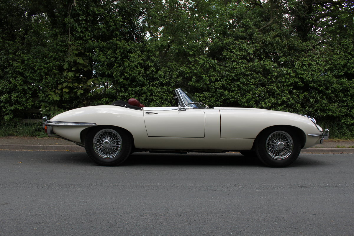 1968 Jaguar E-Type Series II 4.2 Roadster - Matching No's/Colour SOLD (picture 6 of 12)