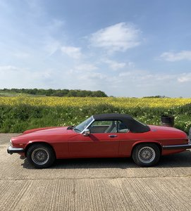 1989 Jaguar Xjs convertible 1988 69000 miles For Sale