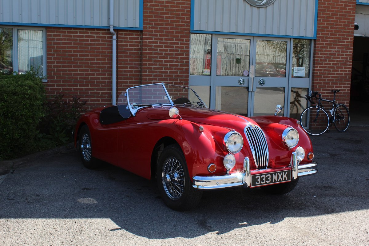1956 Jaguar XK140 MC For Sale (picture 1 of 4)