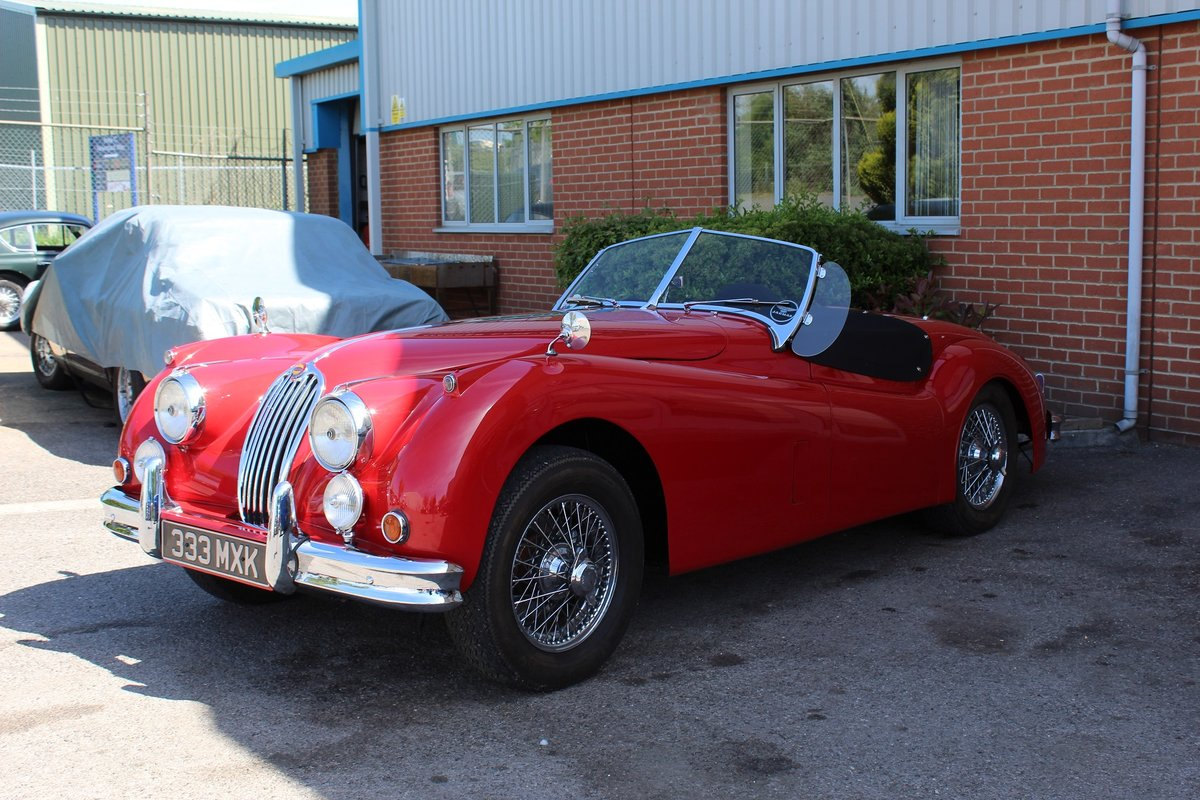 1956 Jaguar XK140 MC For Sale (picture 2 of 4)