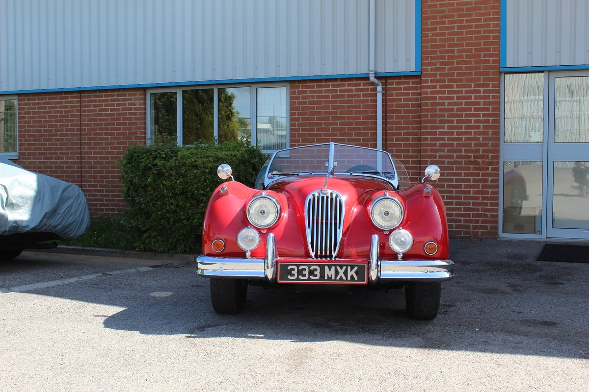 1956 Jaguar XK140 MC For Sale (picture 3 of 4)