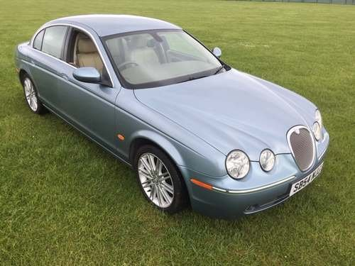 2004 Jaguar S-Type SE Diesel A at Morris Leslie Auction 25th May SOLD by Auction (picture 1 of 4)