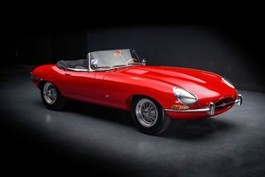"1961 Jaguar Type E 3,8L Roadster ""plancher plat"" For Sale by Auction"
