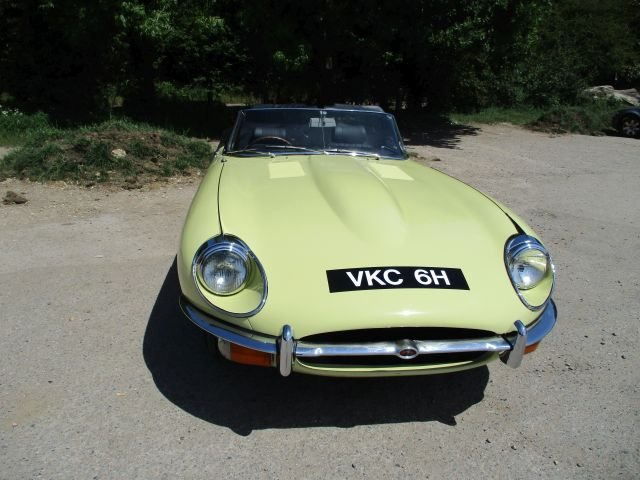 Jaguar E type 4.2 S2 Convertible 1970 Gen  RHD  48,900 miles For Sale (picture 8 of 20)