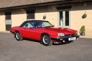 1989 JAGUAR XKS V12 CAB - 61,000 MILES - £27,950 For Sale