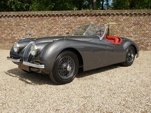 1952 Jaguar XK 120 3.4 OTS very early car, matching numbers/colou