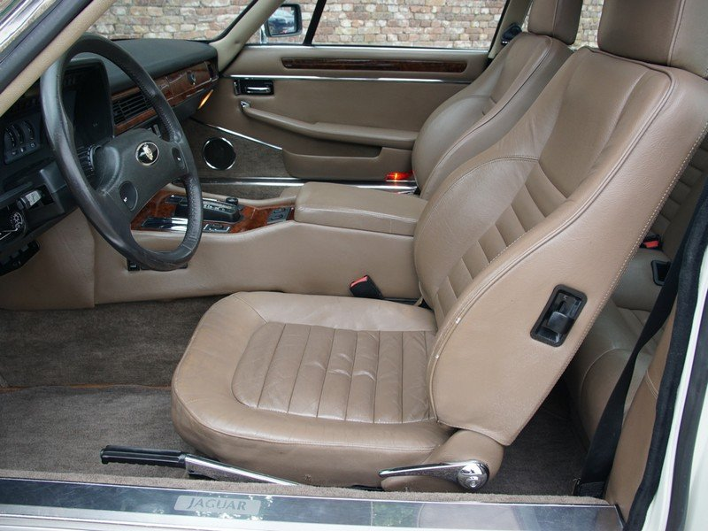 1988 Jaguar XJS 5.3 V12 HE Coupe German delivered, only 3 owners, For Sale (picture 3 of 6)