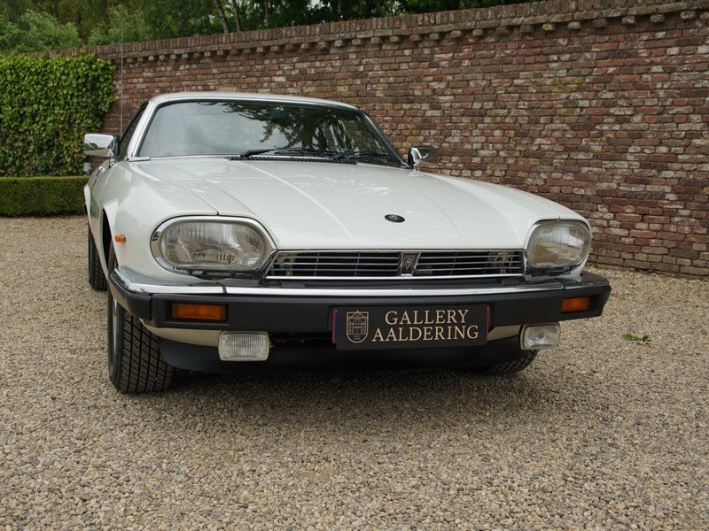 1988 Jaguar XJS 5.3 V12 HE Coupe German delivered, only 3 owners, For Sale (picture 5 of 6)