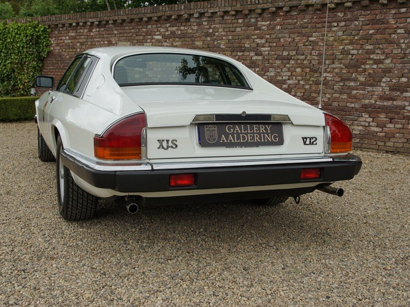 1988 Jaguar XJS 5.3 V12 HE Coupe German delivered, only 3 owners, For Sale (picture 6 of 6)