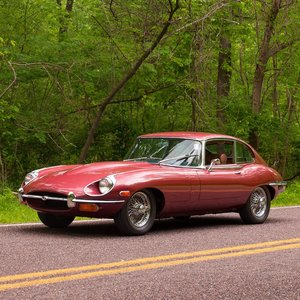 1969 Jaguar E-Type 4.2 Series II 2+2 = Red(~)Tan LHD $obo  For Sale