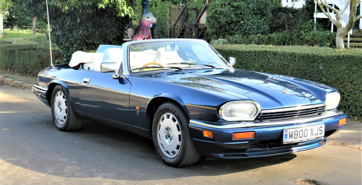 1995 jaguar xjs celebration convertible For Sale (picture 1 of 6)