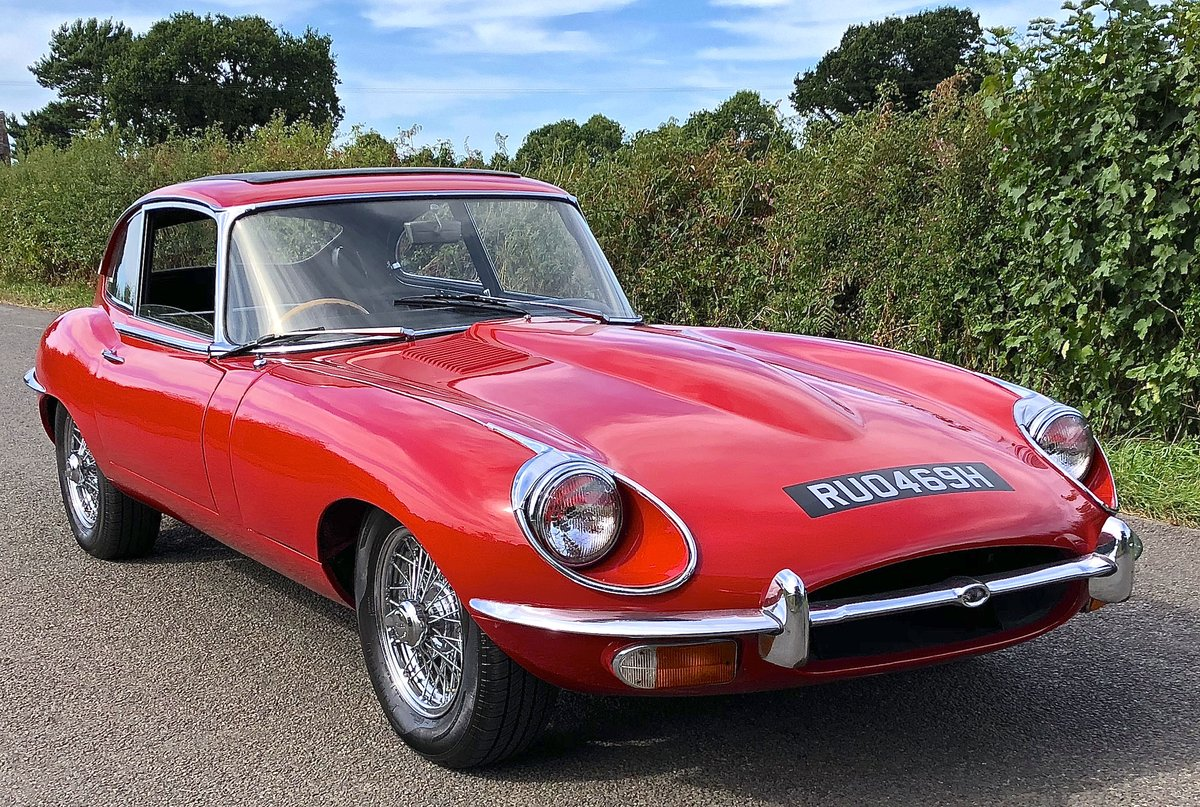 1969 JAGUAR E TYPE SERIES II 2+2 Coupe Automatic For Sale (picture 2 of 6)
