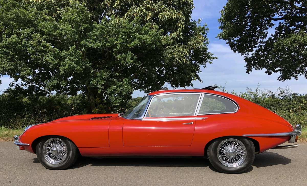 1969 JAGUAR E TYPE SERIES II 2+2 Coupe Automatic For Sale (picture 3 of 6)