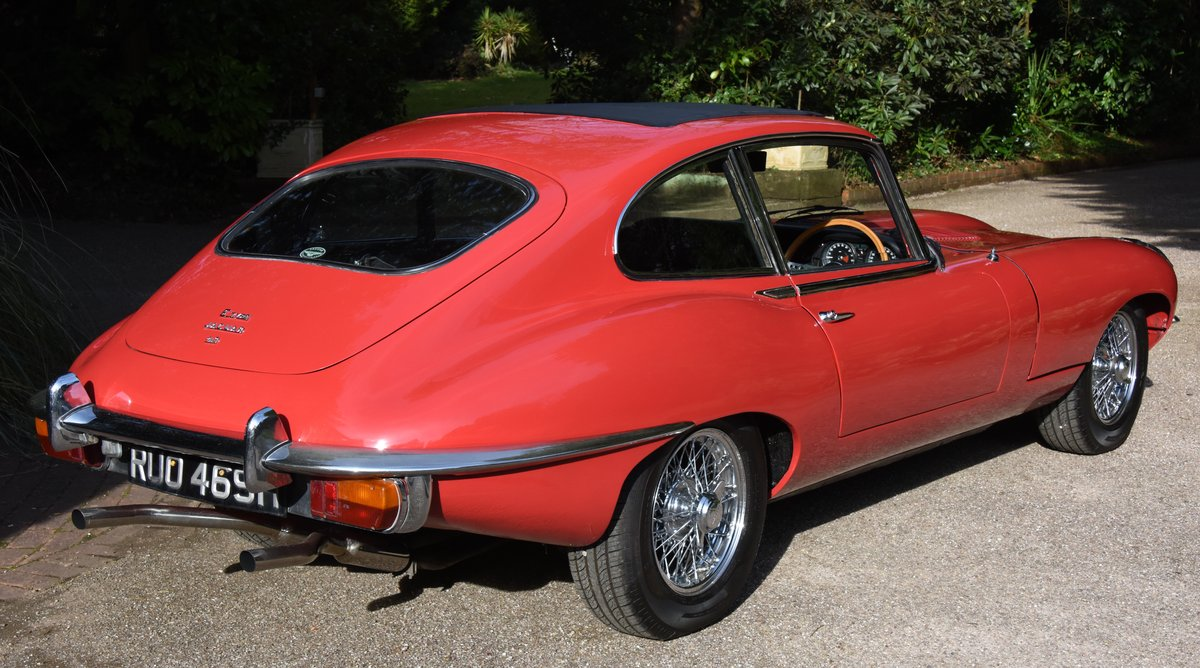 1969 JAGUAR E TYPE SERIES II 2+2 Coupe Automatic For Sale (picture 4 of 6)
