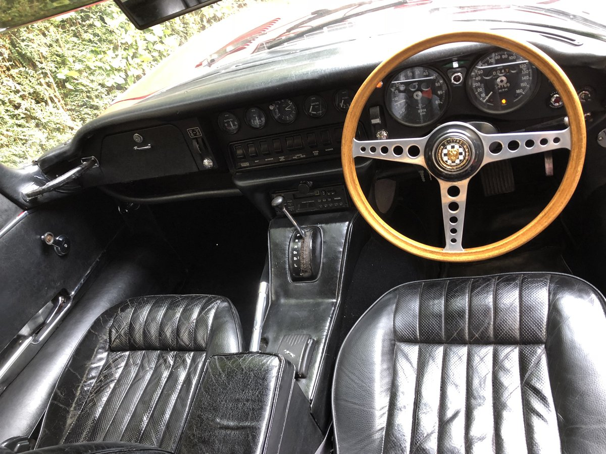1969 JAGUAR E TYPE SERIES II 2+2 Coupe Automatic For Sale (picture 5 of 6)