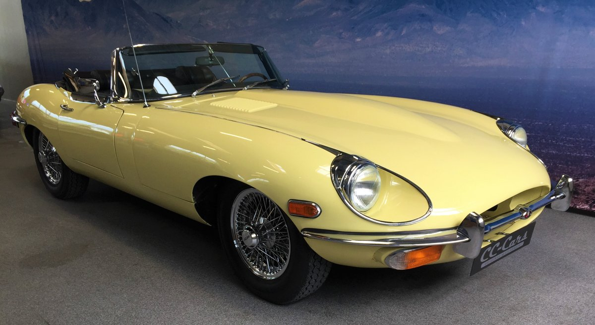 1969 Jaguar E-Type 4.2 Roadster For Sale (picture 1 of 6)