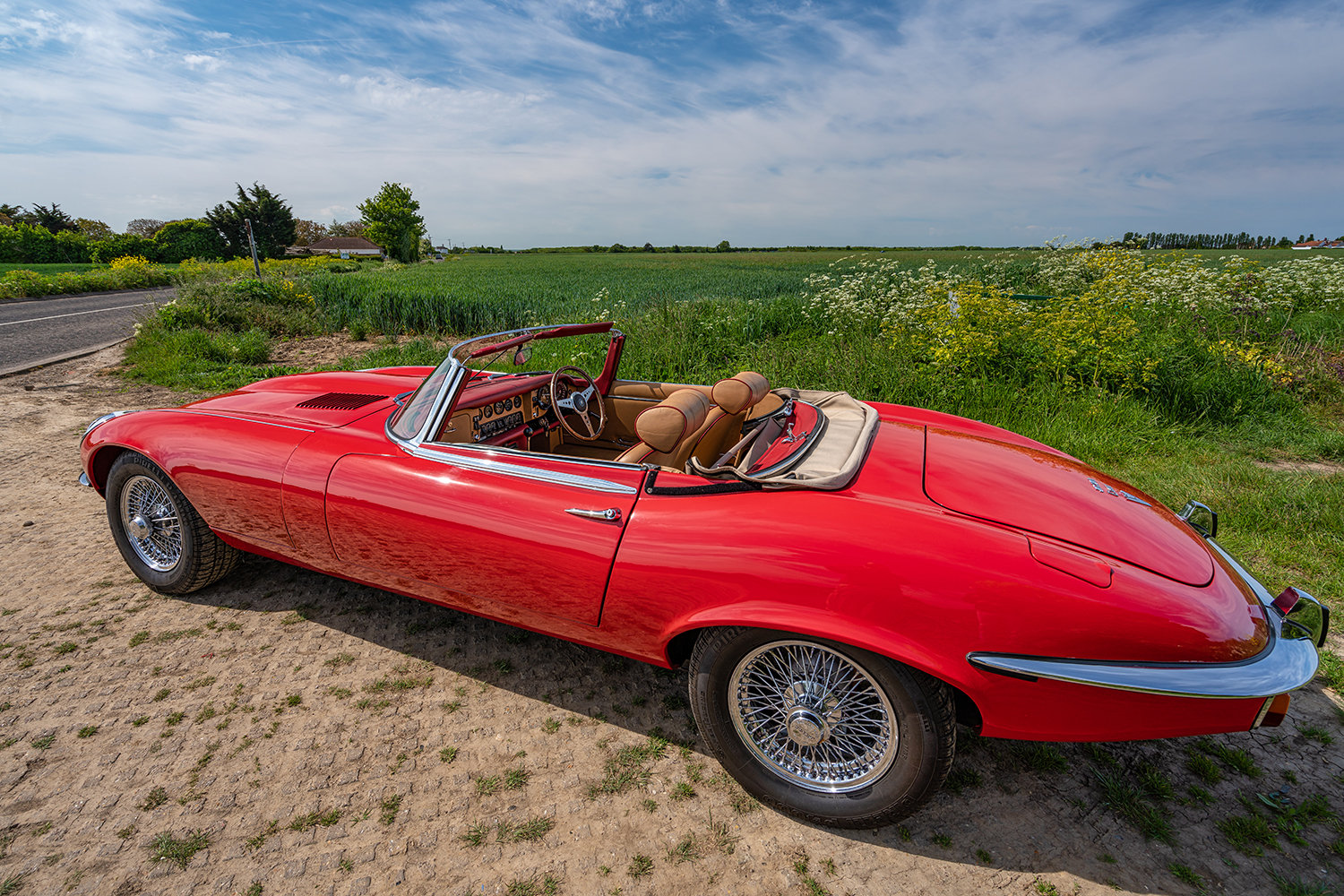1974 JAGUAR E-TYPE SERIES 3 V12 ROADSTER // Lovely Condition // For Sale (picture 1 of 6)
