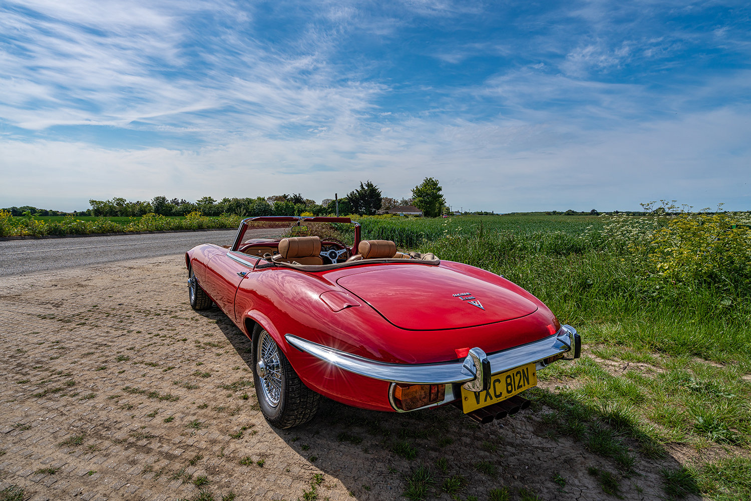 1974 JAGUAR E-TYPE SERIES 3 V12 ROADSTER // Lovely Condition // For Sale (picture 4 of 6)