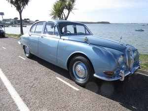 CLASSIC JAGUAR S TYPE, 1968 3.4L MANUAL WITH OD For Sale