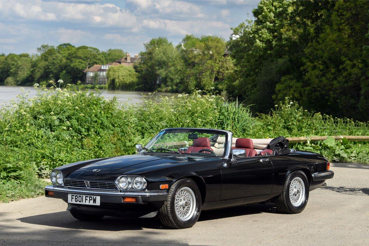1989 Jaguar XJS Convertible SOLD (picture 1 of 12)