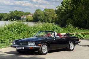 1989 Jaguar XJS Convertible SOLD