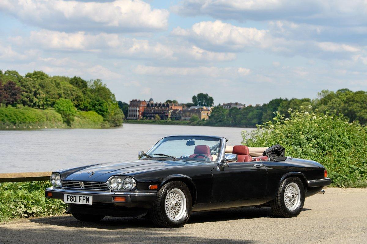 1989 Jaguar XJS Convertible SOLD (picture 2 of 12)