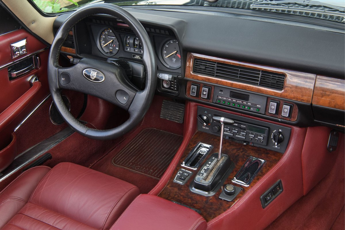 1989 Jaguar XJS Convertible SOLD (picture 9 of 12)