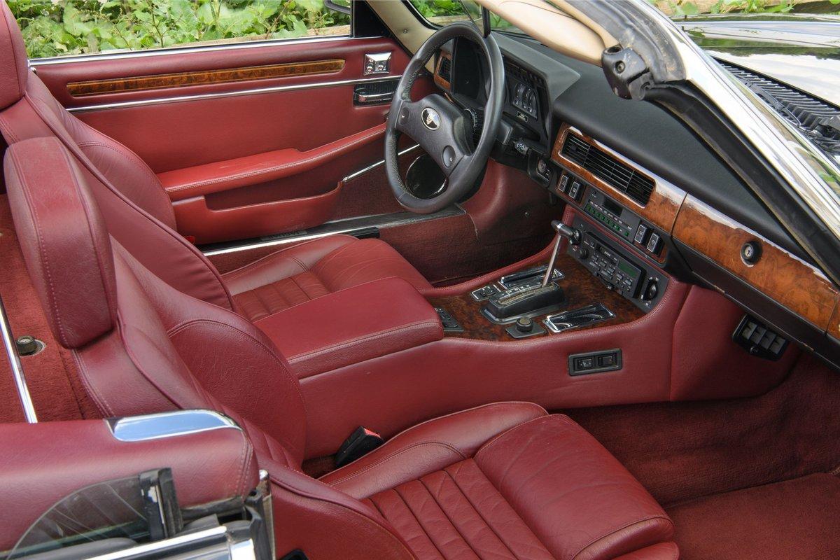 1989 Jaguar XJS Convertible SOLD (picture 10 of 12)