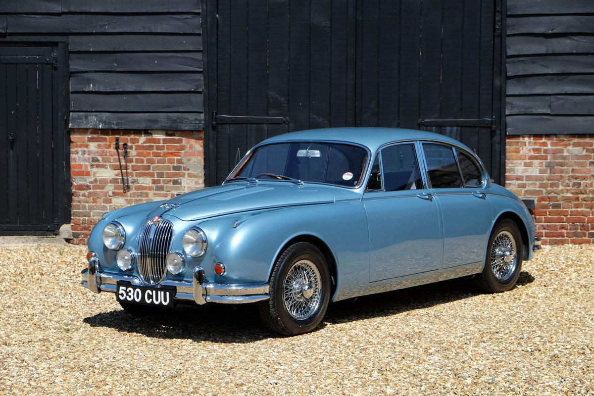 1961 Jaguar MK2 3.8 Original Coombs For Sale (picture 1 of 4)