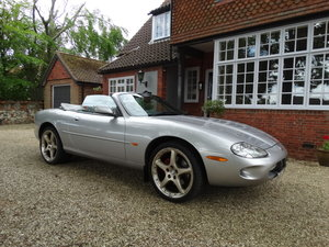 2000 JAGUAR XKR SUPERCHARGED For Sale