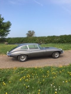 1969 Etype series 2 2+2 bare metal restoration