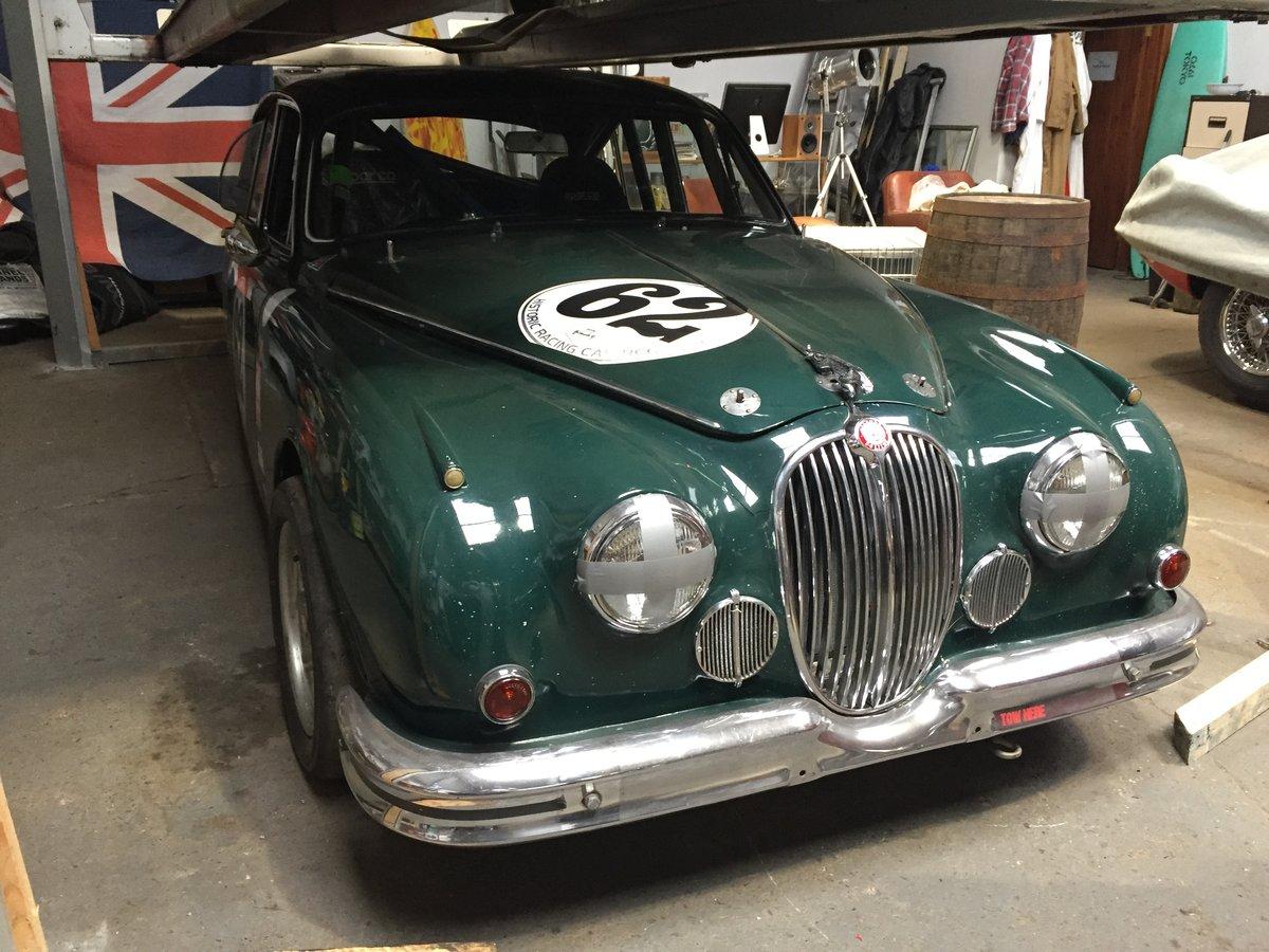 1962 Jaguar Mk2 3 8 Race Car For Sale Car And Classic