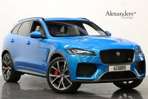 2019 19 JAGUAR F PACE SVR 5.0 SUPERCHARGED V8 AUTO AWD For Sale