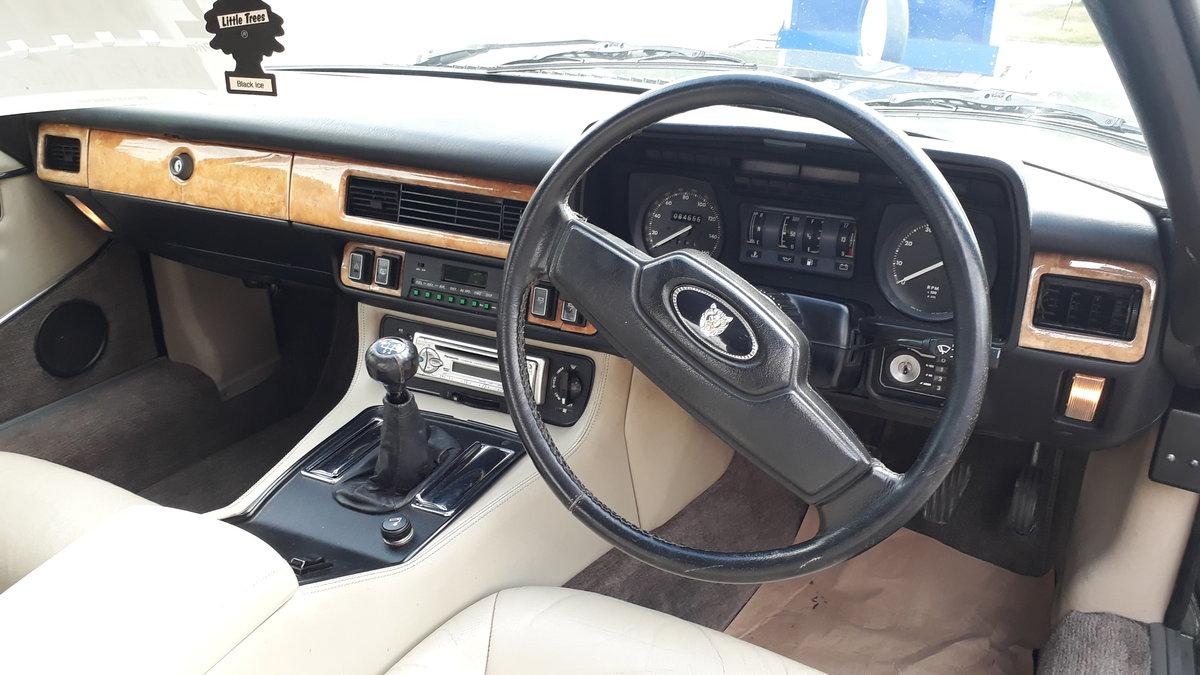 Jaguar XJ-SC Cabriolet 3.6 Manual 1986 Original FSH 4 Owners SOLD (picture 3 of 6)