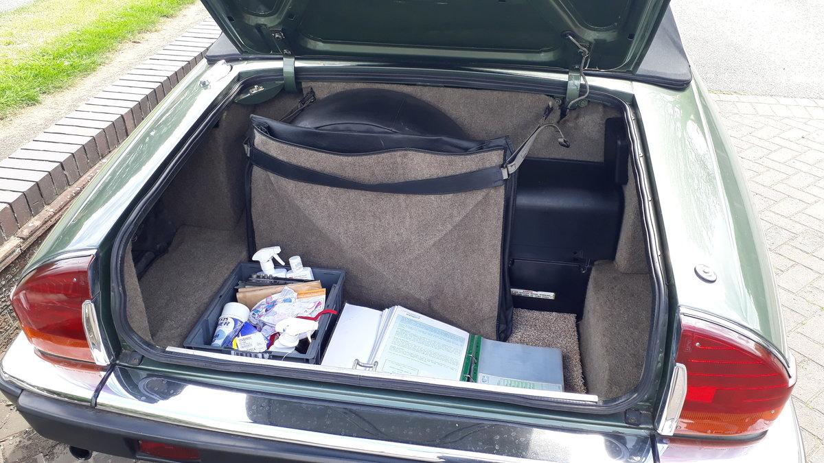 Jaguar XJ-SC Cabriolet 3.6 Manual 1986 Original FSH 4 Owners SOLD (picture 4 of 6)
