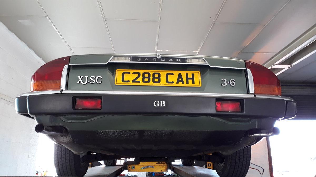 Jaguar XJ-SC Cabriolet 3.6 Manual 1986 Original FSH 4 Owners SOLD (picture 5 of 6)
