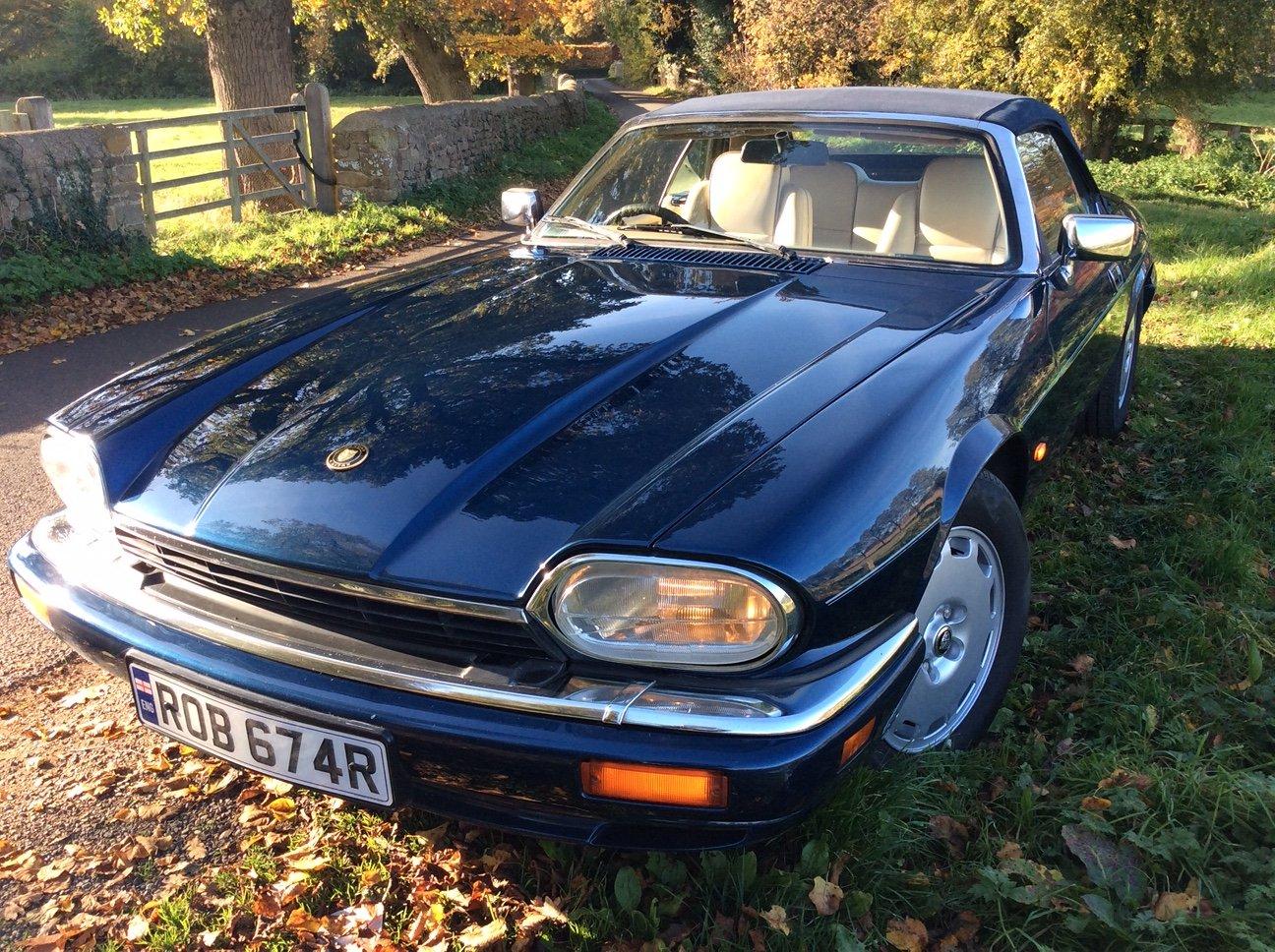 1995 Jaguar XJS Celebration Convertible For Sale   Car And ...