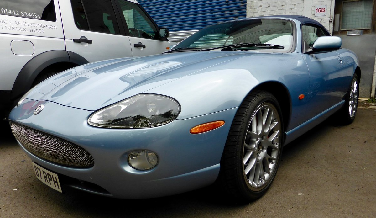 2006 Jaguar XKR-S Auto Sports Convertible SOLD (picture 1 of 5)
