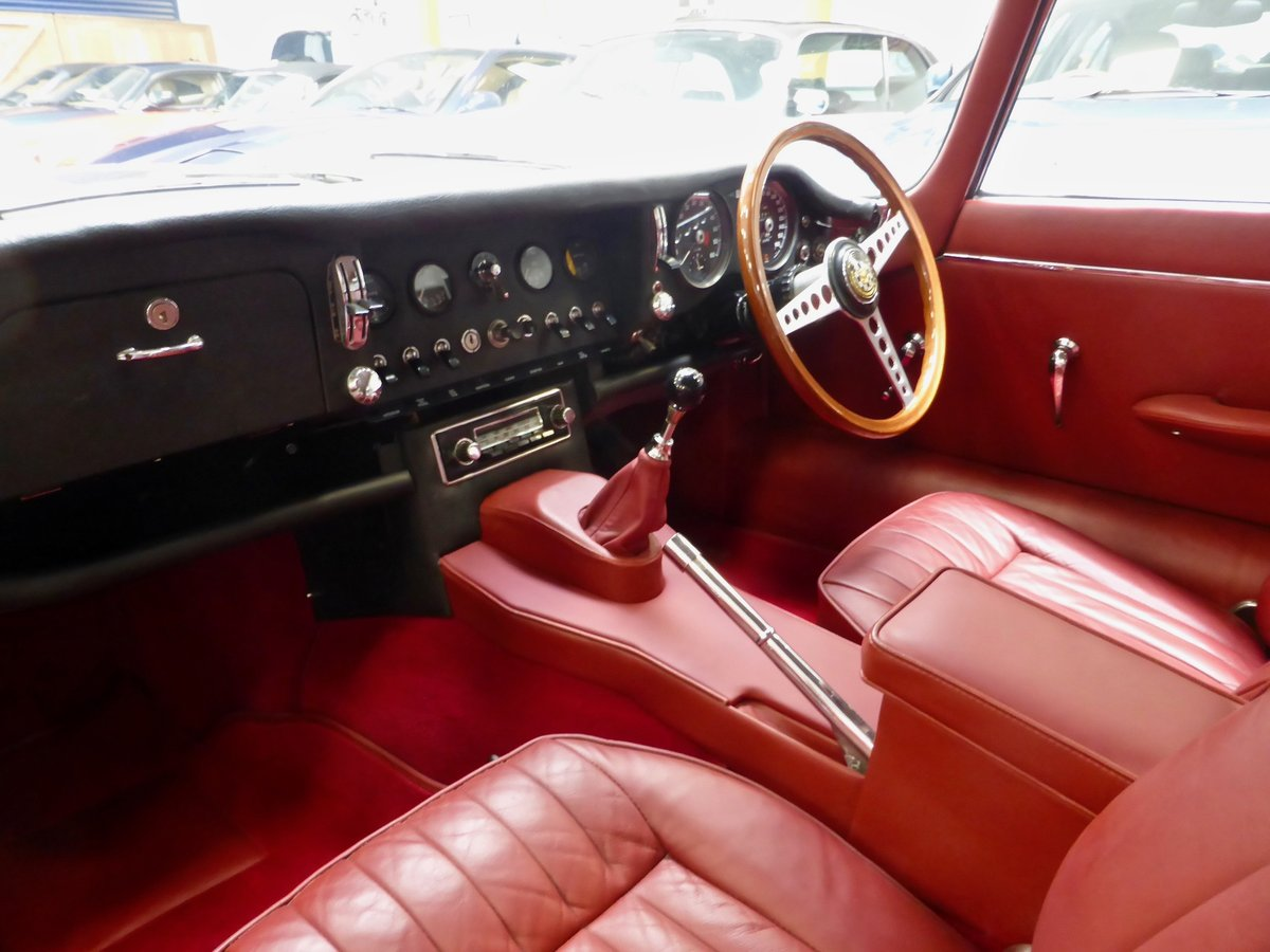 1966 Jaguar 2+2 E Type Series 2  Coupe Manual For Sale (picture 5 of 5)