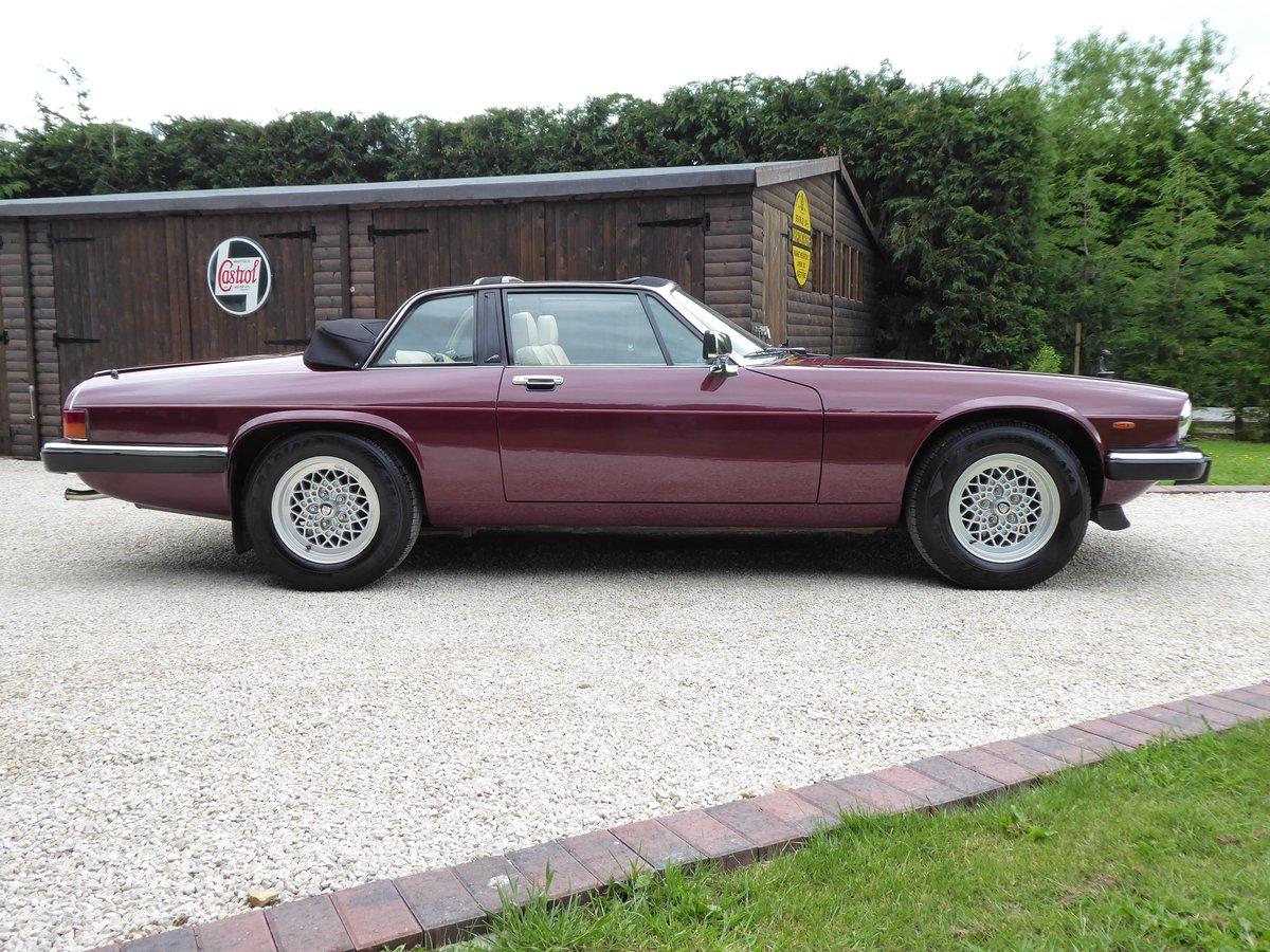 1988 Jaguar XJS Cabriolet SOLD (picture 2 of 6)