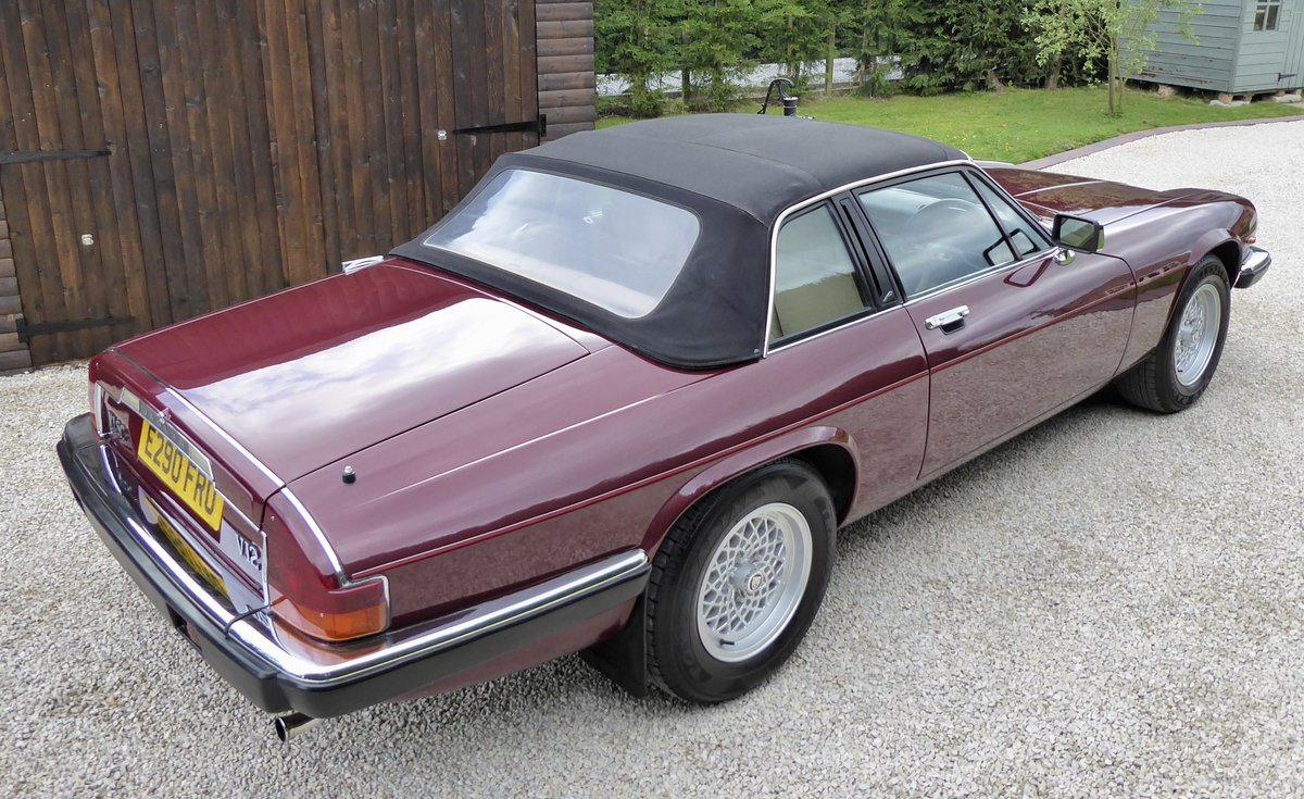 1988 Jaguar XJS Cabriolet SOLD (picture 4 of 6)