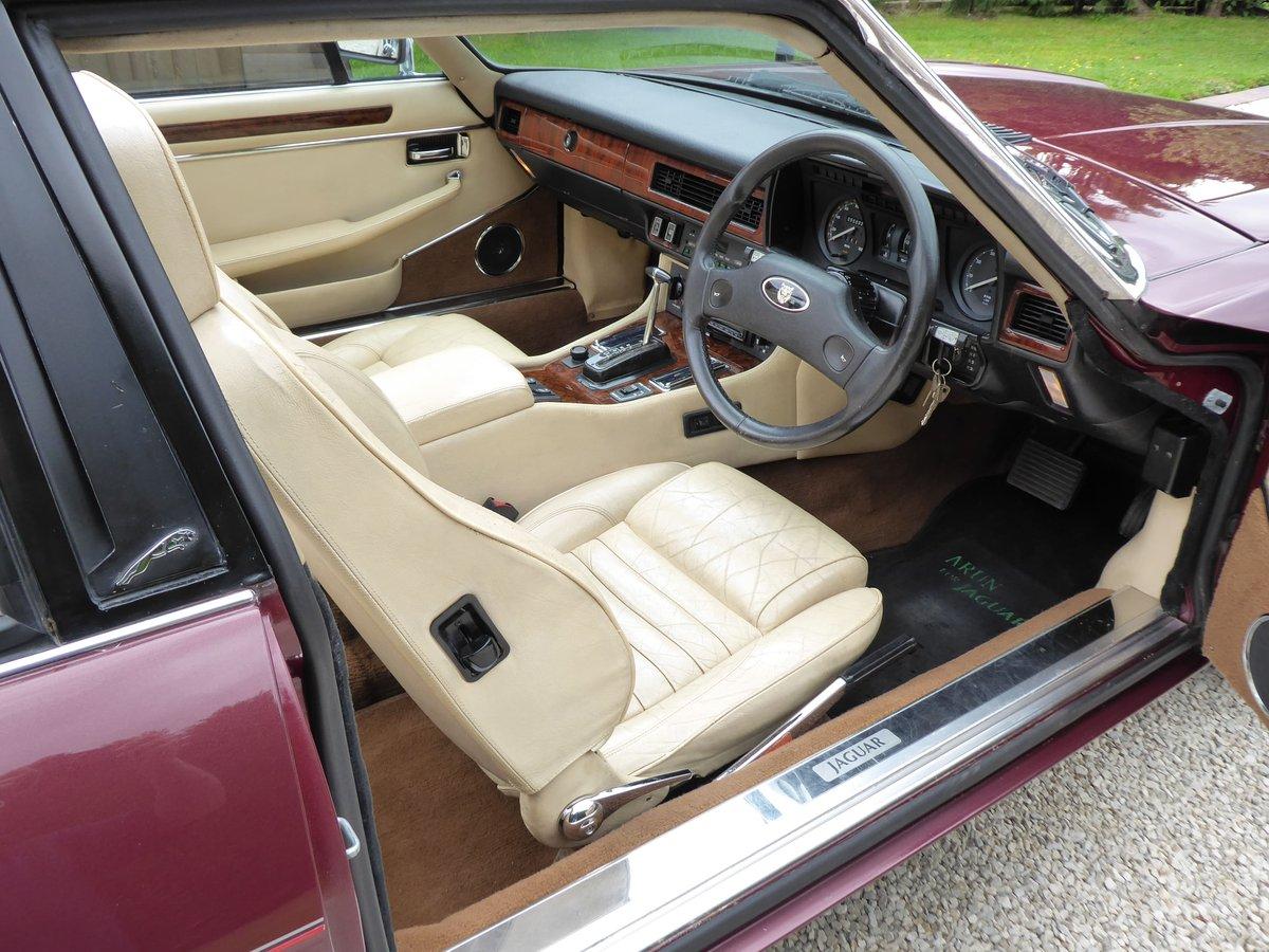 1988 Jaguar XJS Cabriolet SOLD (picture 5 of 6)