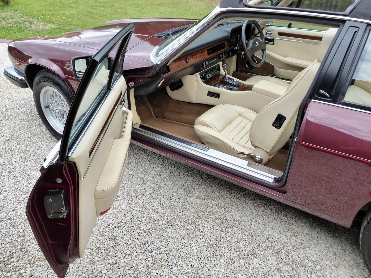 1988 Jaguar XJS Cabriolet SOLD (picture 6 of 6)