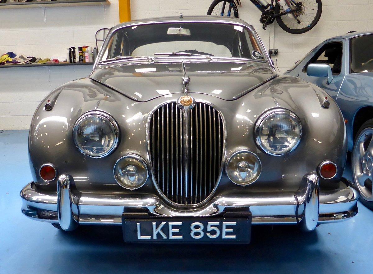 1967 Jaguar Mk II 3.4 Manual SOLD (picture 1 of 6)