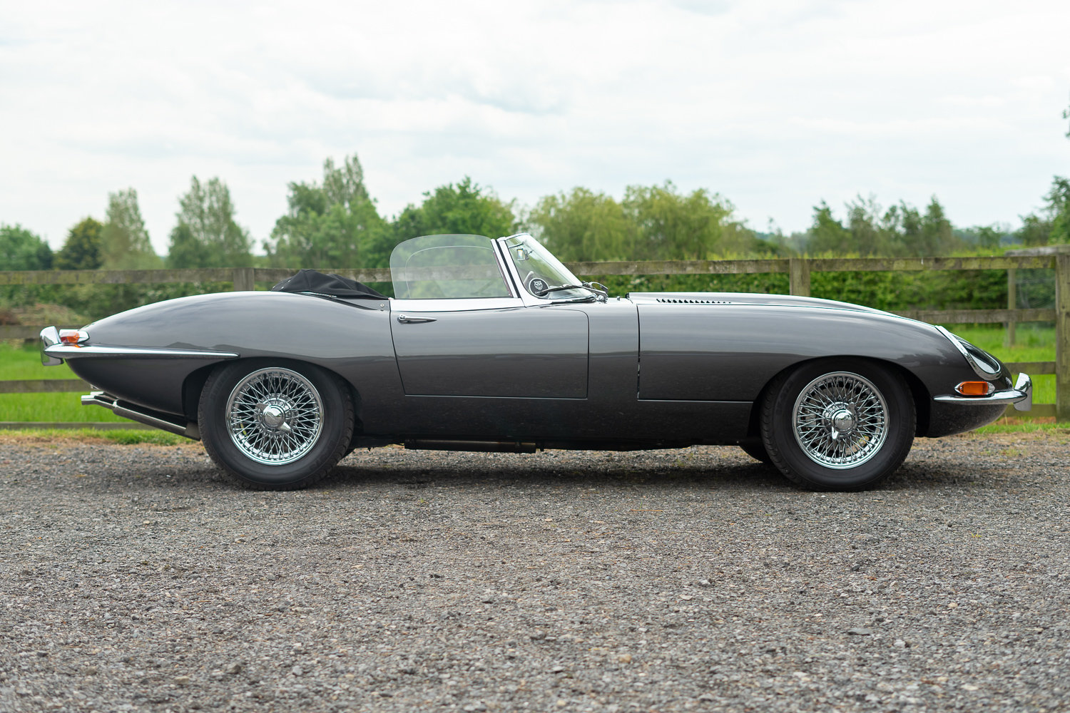 1962 Jaguar E-Type Series One 3.8 Roadster **SOLD** For Sale (picture 2 of 6)
