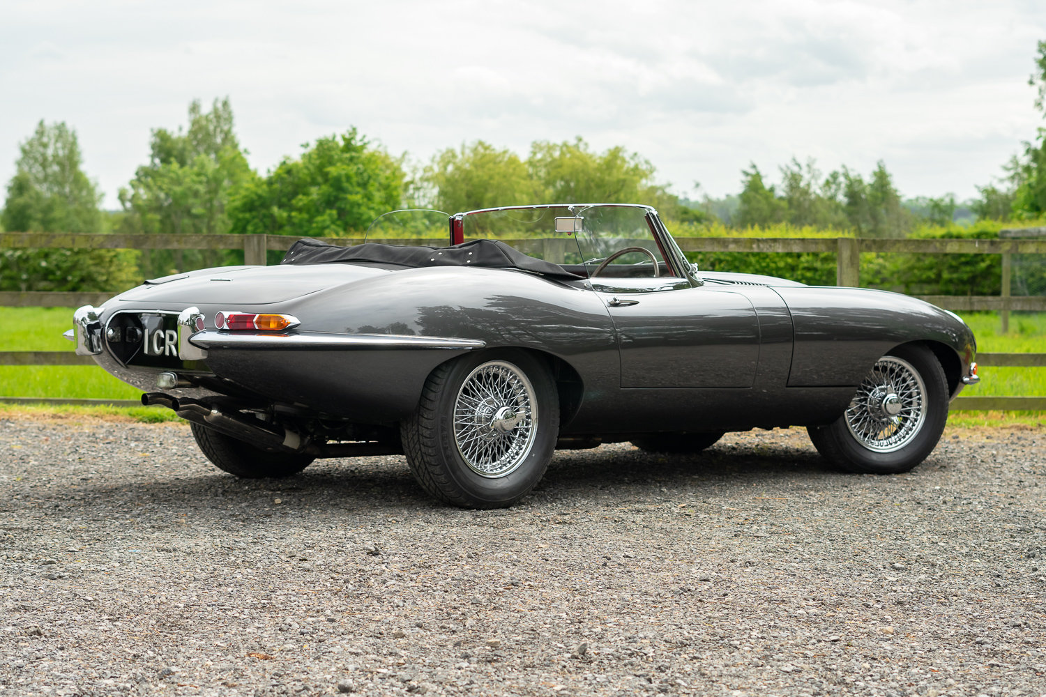 1962 Jaguar E-Type Series One 3.8 Roadster **SOLD** For Sale (picture 3 of 6)