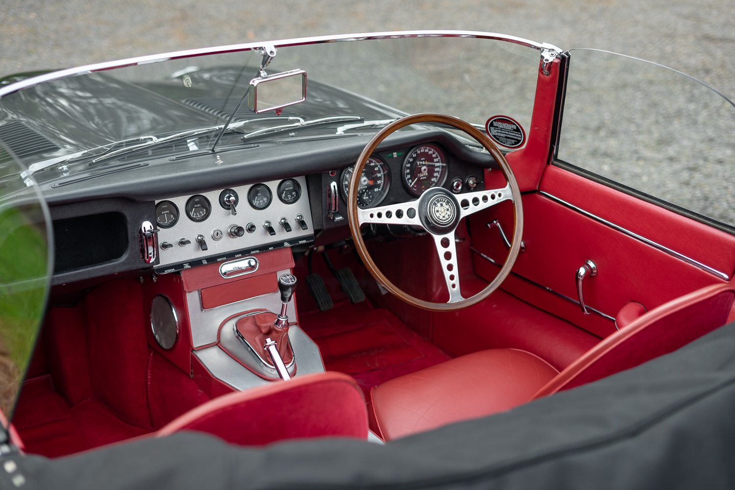 1962 Jaguar E-Type Series One 3.8 Roadster **SOLD** For Sale (picture 4 of 6)