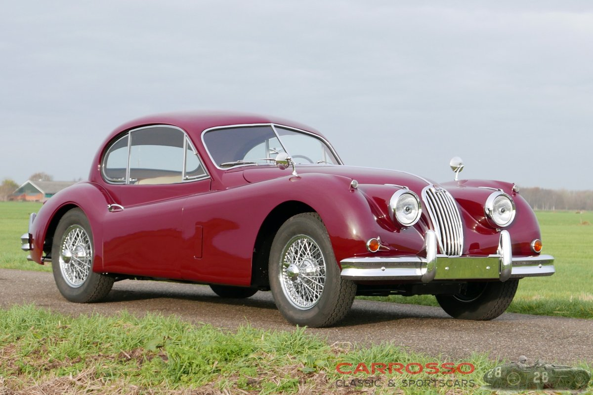 1955 jaguar xk140 fhc body-off restored for sale (picture 1 of 6)