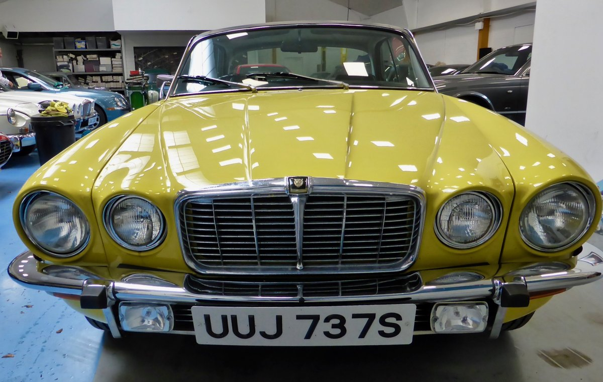 1977 Jaguar XJ 4.2 manual coupe  For Sale (picture 2 of 5)